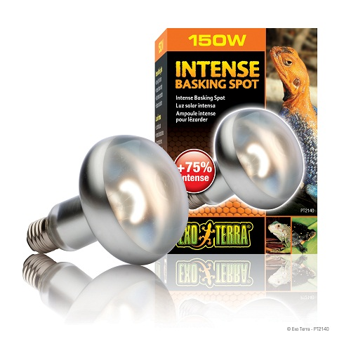Exo Terra Sun Glo Tight Beam Basking Spot Lamp 150 Watt